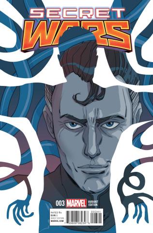 Secret Wars #3 (Sauvage Cover)