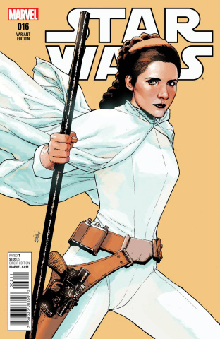 Star Wars #16 (Yu Cover)