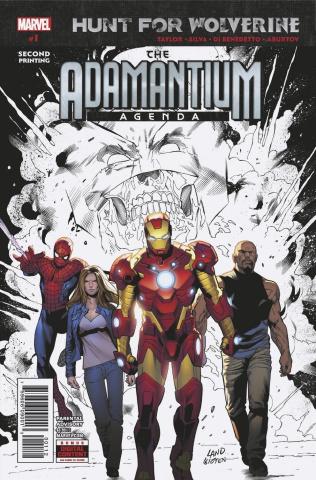 Hunt for Wolverine: The Adamantium Agenda #1 (Silva 2nd Printing)