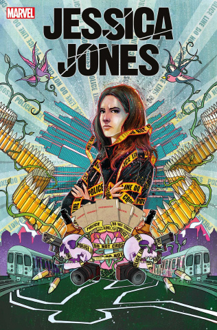 Jessica Jones: Blind Spot #1 (Simmonds Cover)