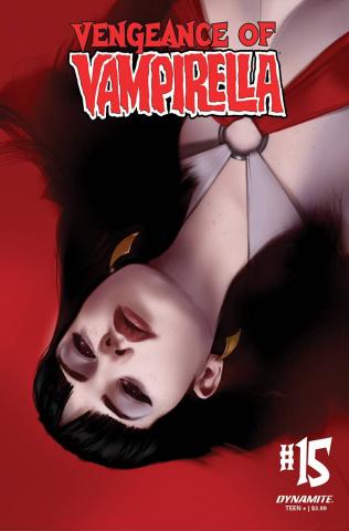 Vengeance of Vampirella #15 (CGC Graded Oliver Cover)