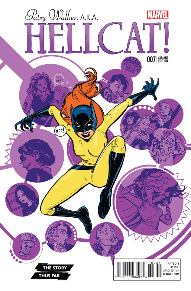 Patsy Walker, a.k.a. Hellcat #7 (Story Thus Far Cover)