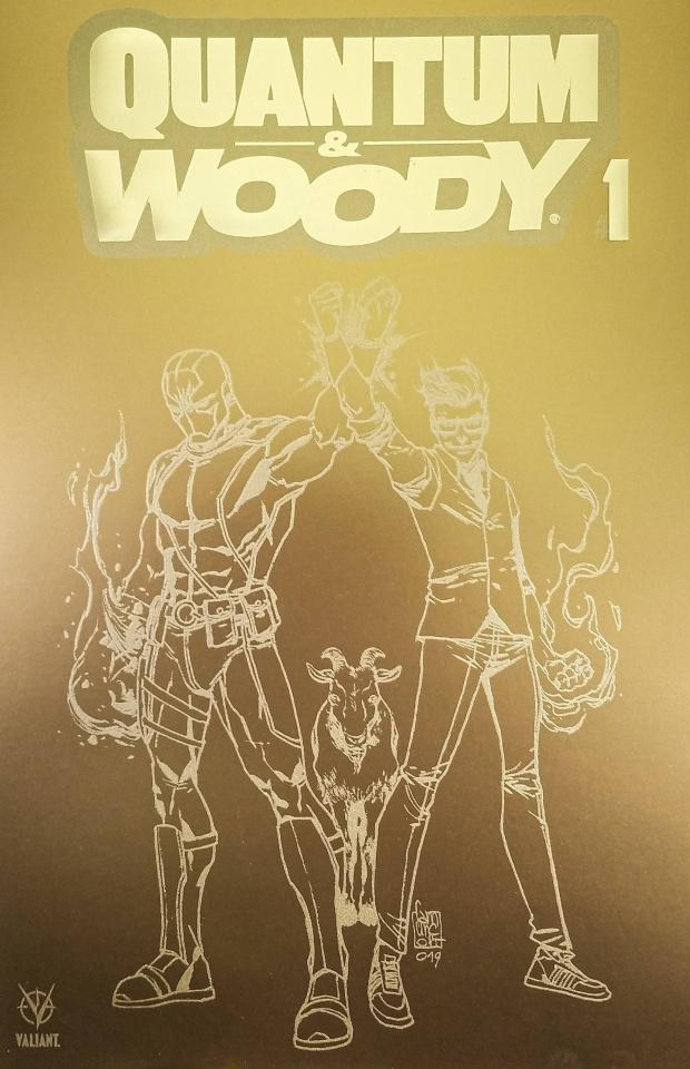 Quantum & Woody #1 (100 Copy Fools Gold Cover)