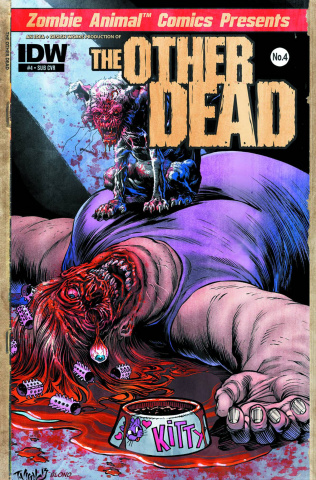 The Other Dead #4 (Subscription Cover)