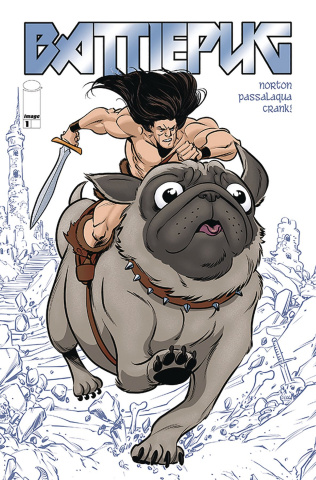 Battlepug #1 (Norton & Passalaqua Cover)