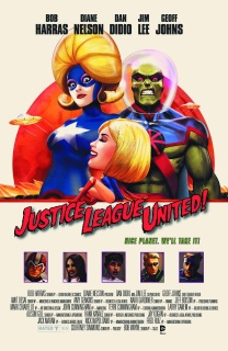 Justice League United #10 (Movie Poster Cover)