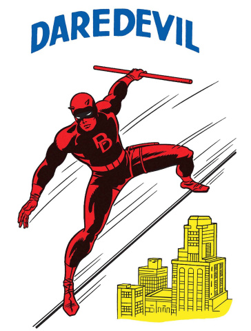 Daredevil #595 (Kirby 1965 T- Shirt Cover)