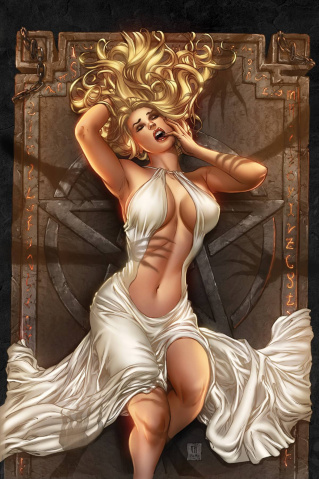 Grimm Fairy Tales: Satan's Hollow #4 (Krome Cover)