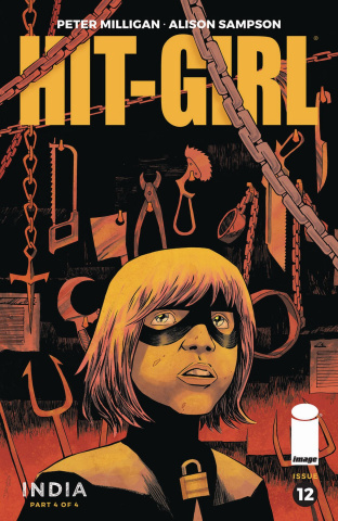 Hit-Girl, Season Two #12 (Shalvey Cover)