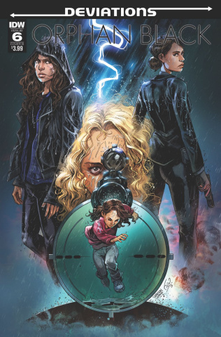 Orphan Black: Deviations #6 (Ossio Cover)