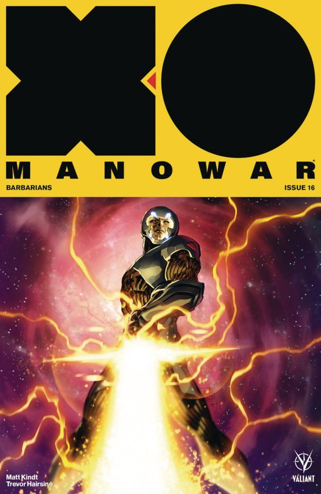 X-O Manowar #16 (50 Copy Icon Tan Cover)