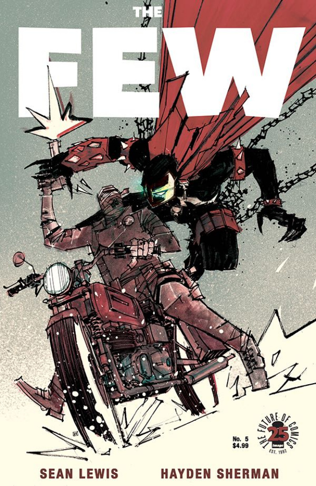 The Few #5 (Spawn Month Cover)