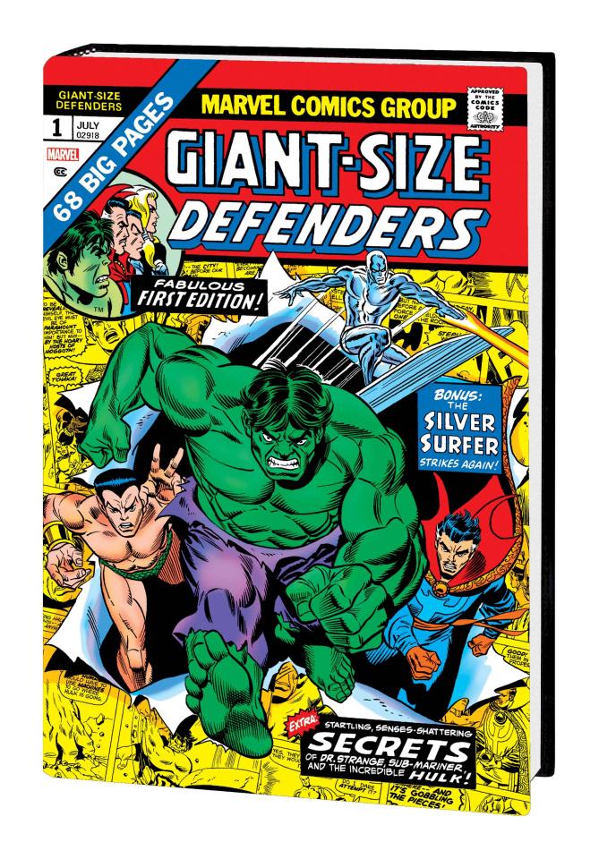 The Defenders Vol. 1 (Omnibus Kane Cover)