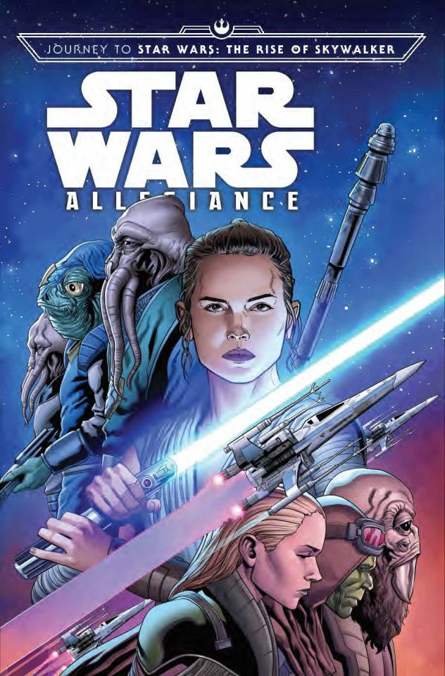 Journey to Star Wars: The Rise of Skywalker - Allegiance #4 (Sliney Cover)