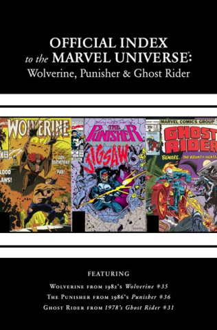 The Official Index to the Marvel Universe #2: Wolverine, Punisher, Ghost Rider