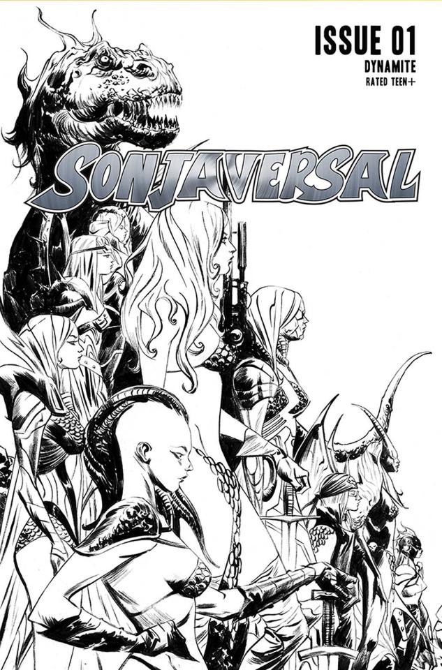 Sonjaversal #1 (20 Copy Lee B&W Cover)