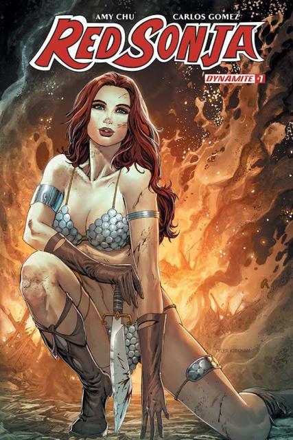 Red Sonja #7 (Kirkham Cover)