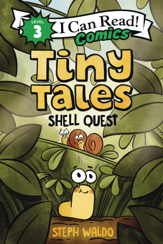 I Can Read! Comics Level 3: Tiny Tales - Shell Quest
