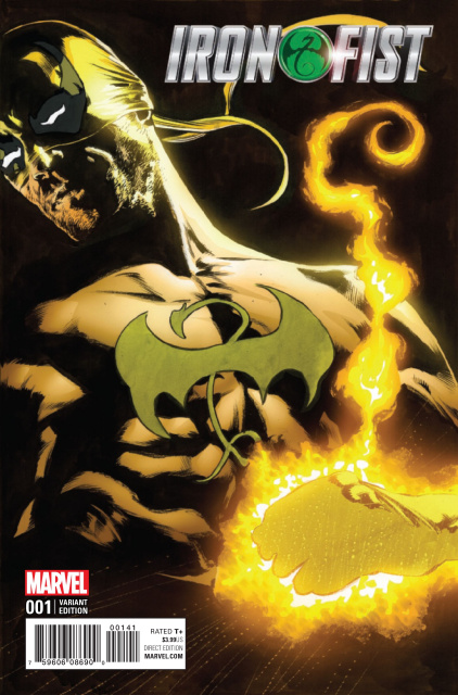 Iron Fist #1 (Perkins Cover)
