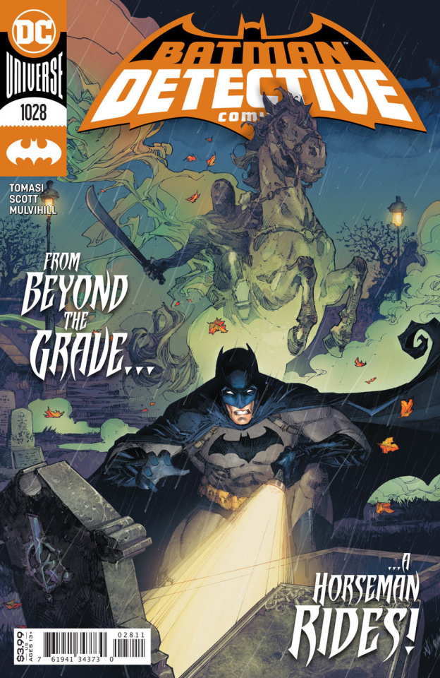 Detective Comics #1028 (Kenneth Rocafort Cover)