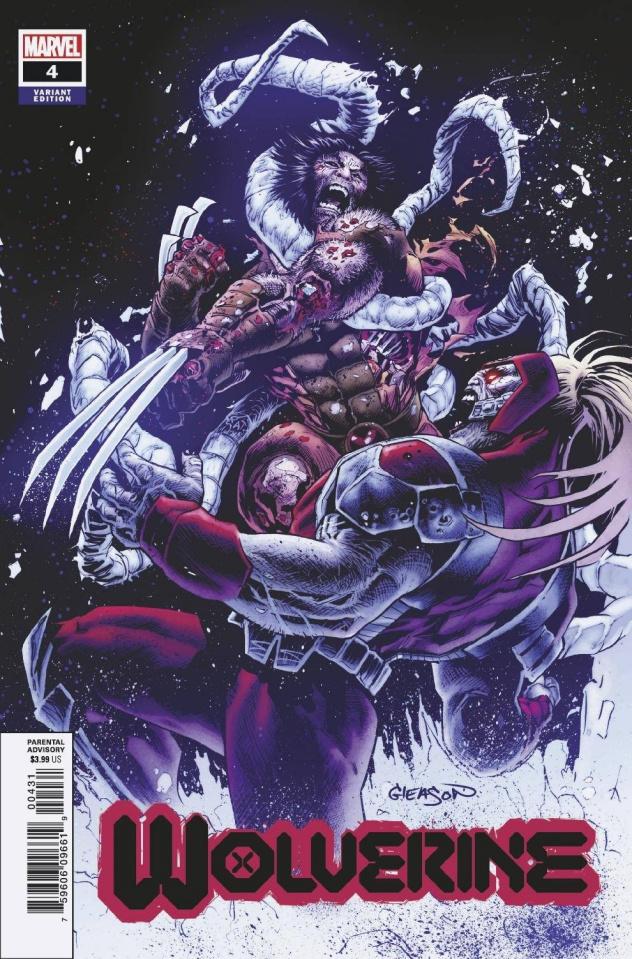 Wolverine #4 (Gleason Cover)