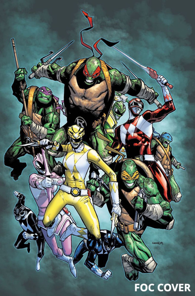 Power Rangers / Teenage Mutant Ninja Turtles #2 (Ramos Cover)