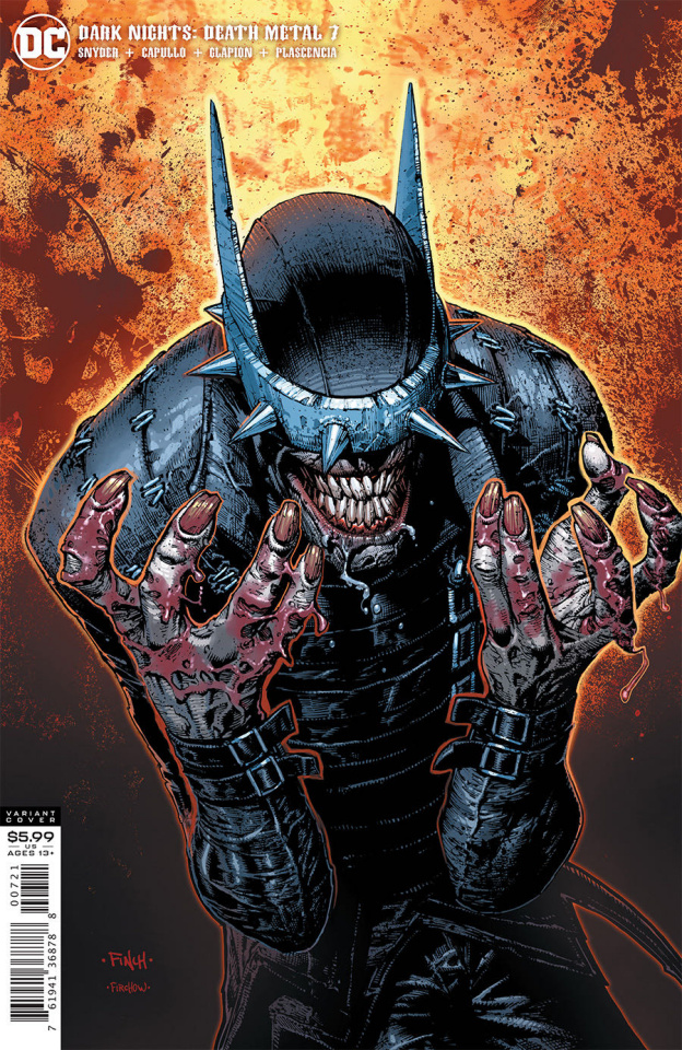 Dark Nights: Death Metal #7 (David Finch Batman Who Laughs Cover)