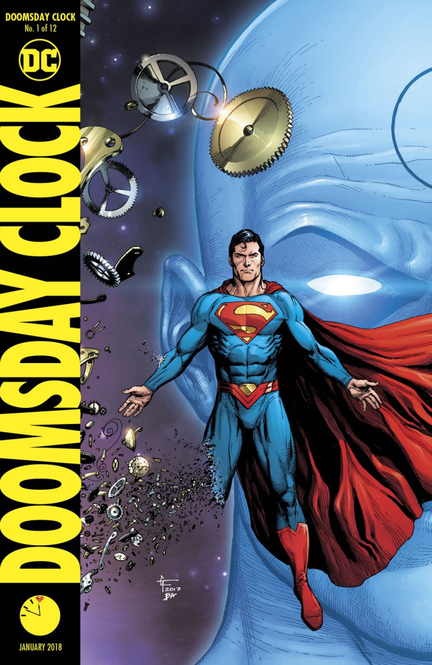 Doomsday Clock #1 (Frank Cover)