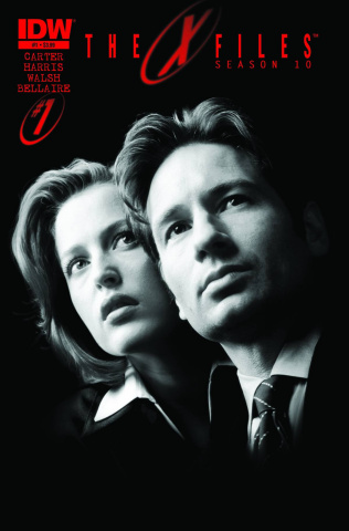 The X-Files, Season 10 #1 (3rd Printing)