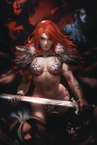 Red Sonja: Age of Chaos #2 (Chew Virgin Cover)