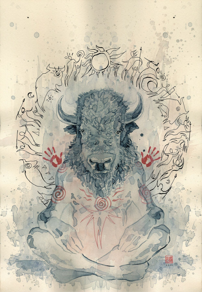 American Gods: Shadows #7 (Mack Cover)