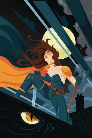 Belle: Beast Hunter #6 (Mahle Cover)
