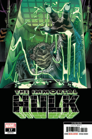 The Immortal Hulk #17 (Bennett 2nd Printing)