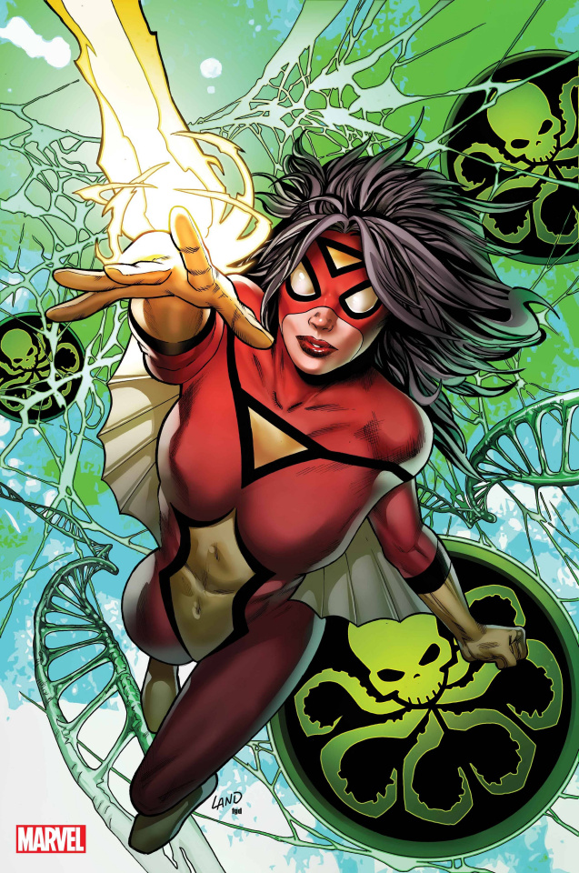 Spider-Woman #5 (Land Virgin Cover)