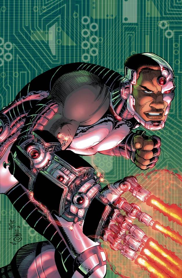 Cyborg #10 (Romita Cover)