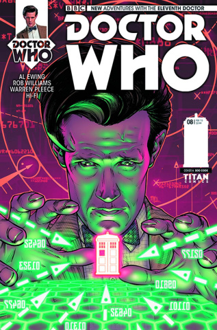 Doctor Who: New Adventures with the Eleventh Doctor #8 (Cook Cover)