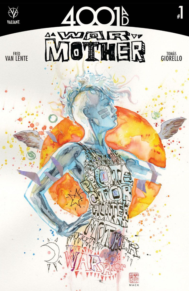4001 AD: War Mother #1 (Mack Cover)