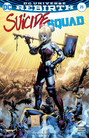 Suicide Squad #25 (Variant Cover)
