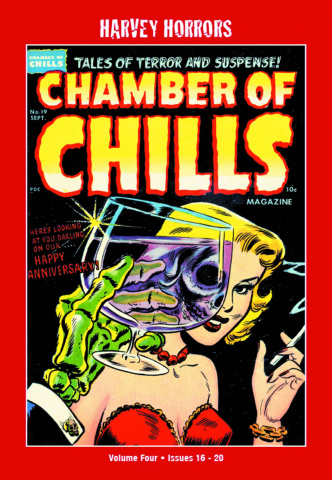 Harvey Horrors: Chamber of Chills Vol. 4
