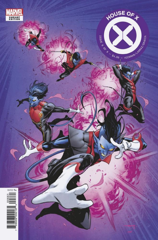 House of X #6 (Coello Character Decades Cover)