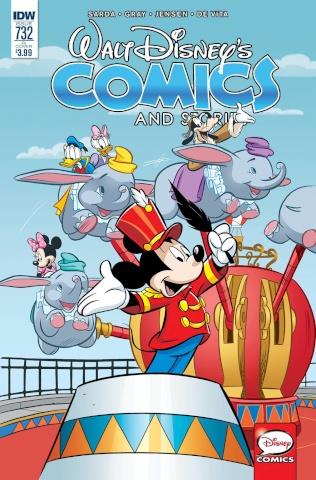 Walt Disney's Comics and Stories #732 (10 Copy Cover)