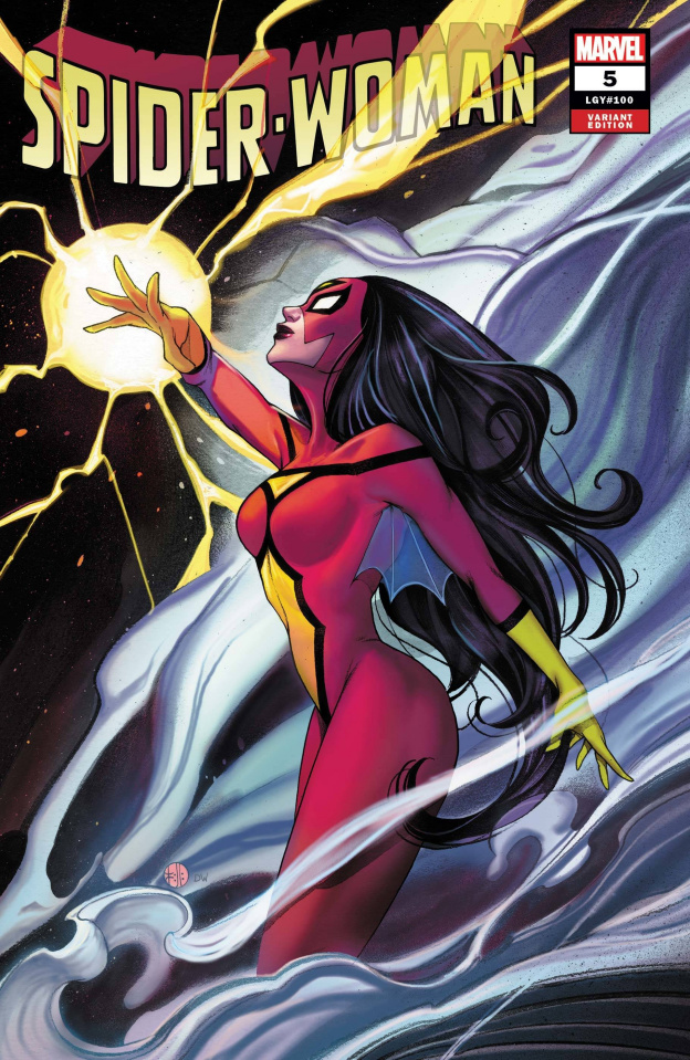 Spider-Woman #5 (Momoko Cover)