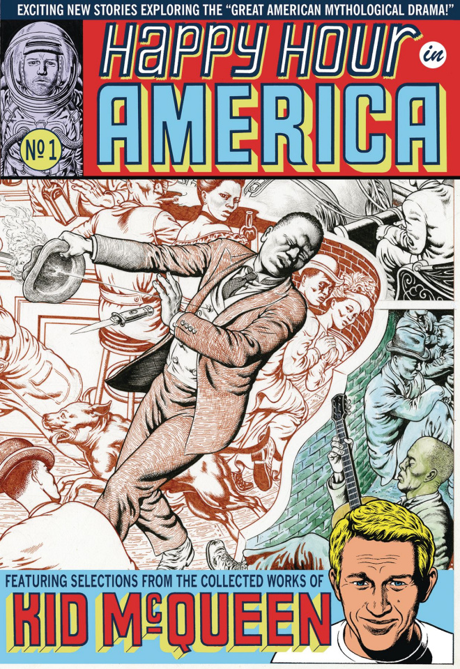 Happy Hour in America #1 (Wrap Around Cover)
