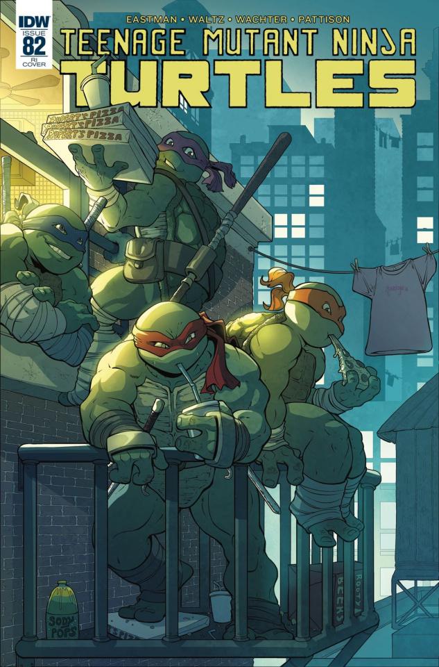 Teenage Mutant Ninja Turtles #82 (10 Copy Cover)