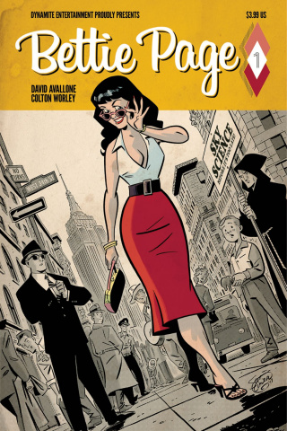 Bettie Page #1 (Chantler Cover)