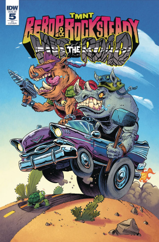 Teenage Mutant Ninja Turtles: Bebop and Rocksteady Hit the Road #5 (10 Copy Cover)