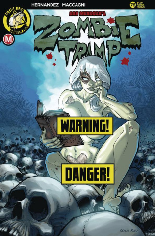 Zombie Tramp #76 (Budd Risque Cover)