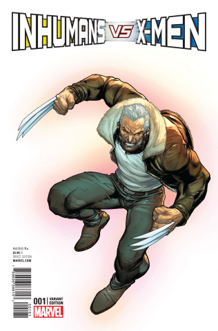 IvX #1 (X-Men Cover)
