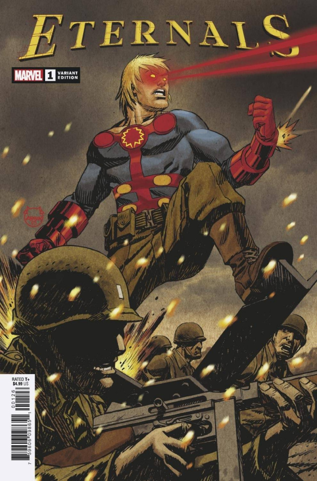 Eternals #1 (Dave Johnson Cover)