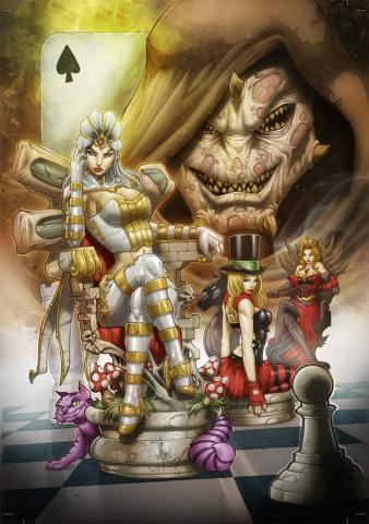 Grimm Fairy Tales: Wonderland #34 (El Tabanas Cover)